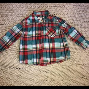 3t Cherokee button down shirt